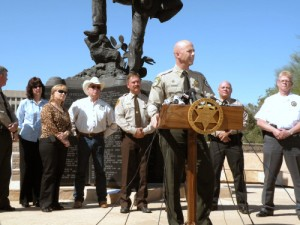 Arizona Fast and Furious Sheriff's Press Conference image