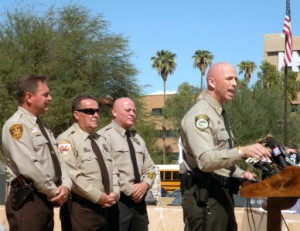 Arizona Fast and Furious Sheriff's Press Conference Paul Babeu image