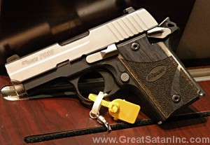 Sig Sauer P938 Blackwood in 9mm image