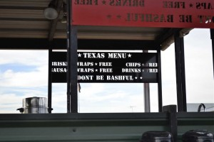 LaRue Tactical BBQ Menu