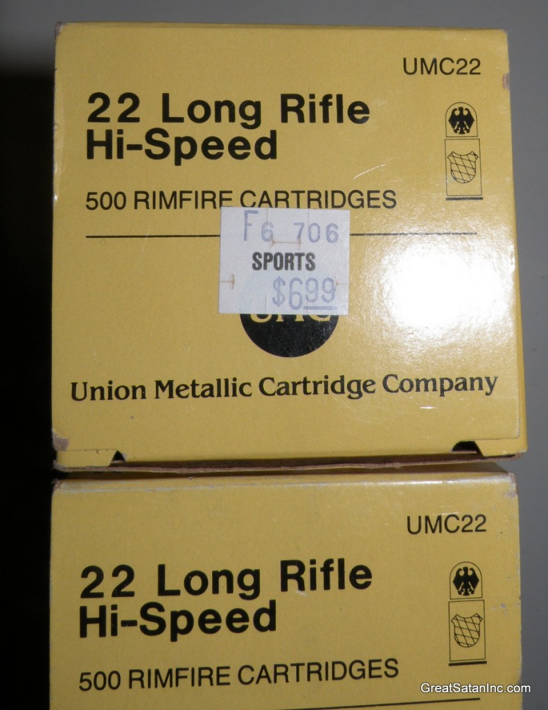 UMC .22LR Bicks were $6.99 in the 90s (about 1998)